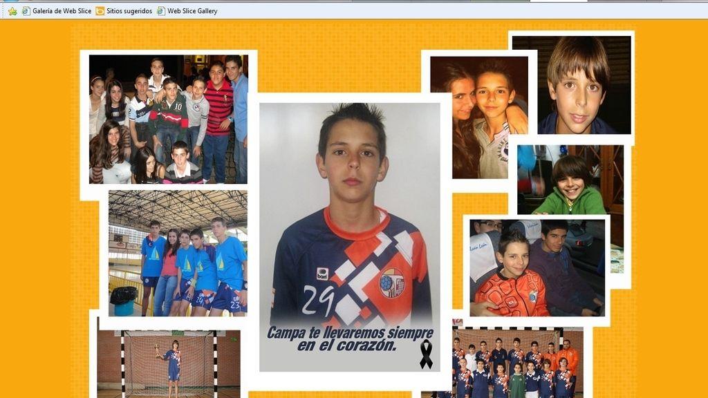 Fallece un jugador de balonmano de 14 años. Foto: http://www.balonmanoutrera.es/
