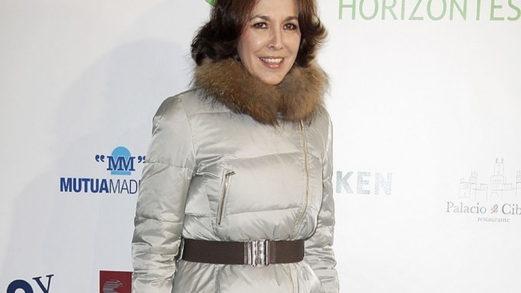 La presentadora Isabel Gemio