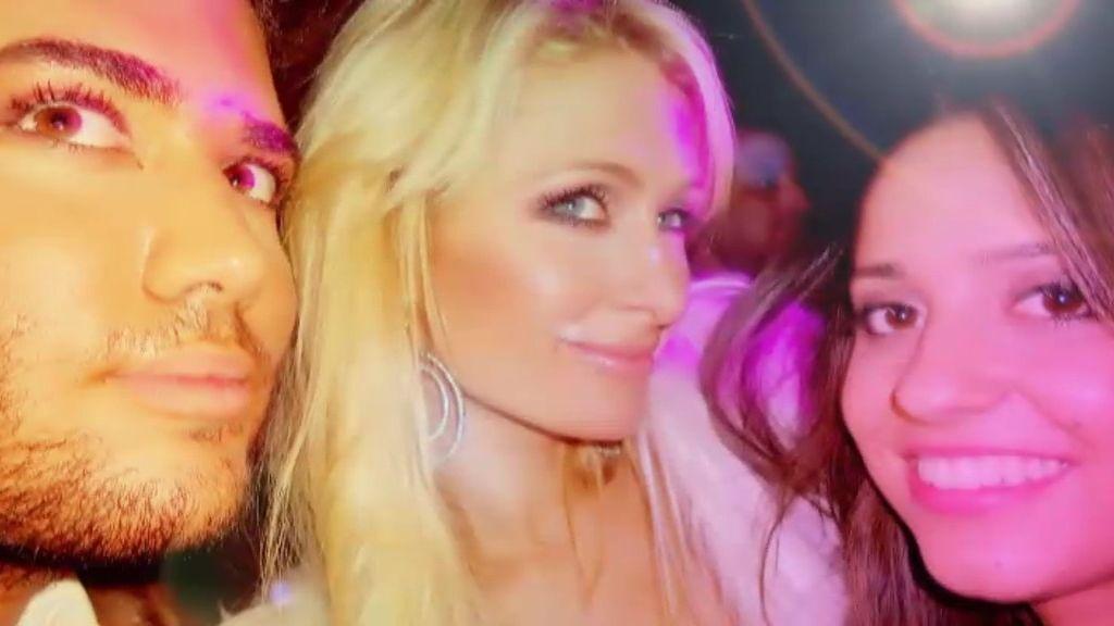 Las fotos de Paris Hilton con los 'hijos de Papá'