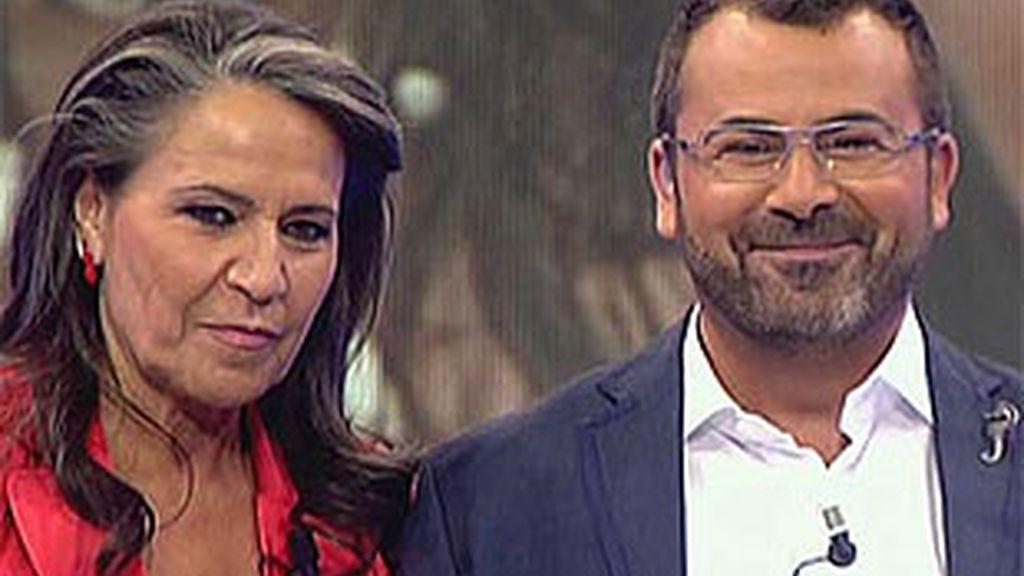 Mari Ángeles hizo las paces con Jorge Javier Vázquez