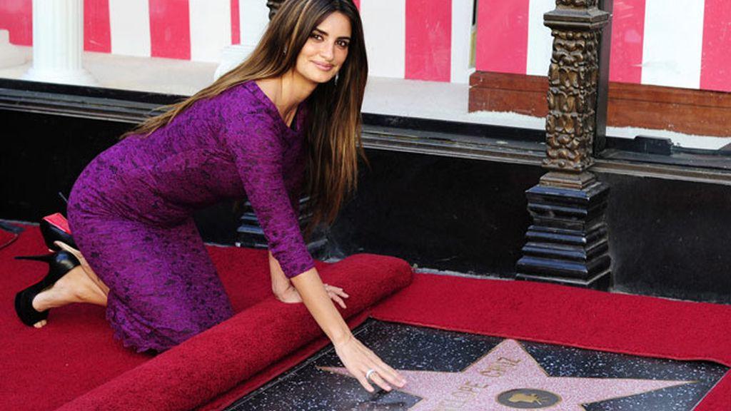 La actriz española ya tiene su estrella. Foto: EFE.