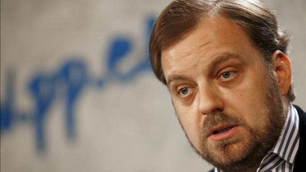 El portavoz de Exteriores del PP en el Congreso, Gustavo de Arístegui. EFE/Archivo