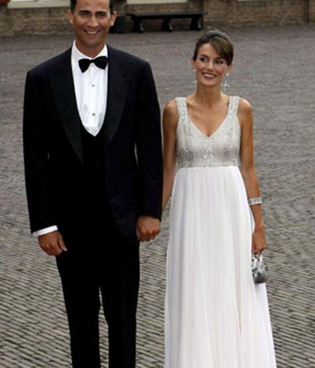 La elegancia de los Príncipes de Asturias