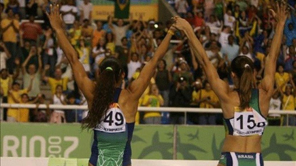 Maggi y Costa a la final de longitud y la cubana Savigne eliminada