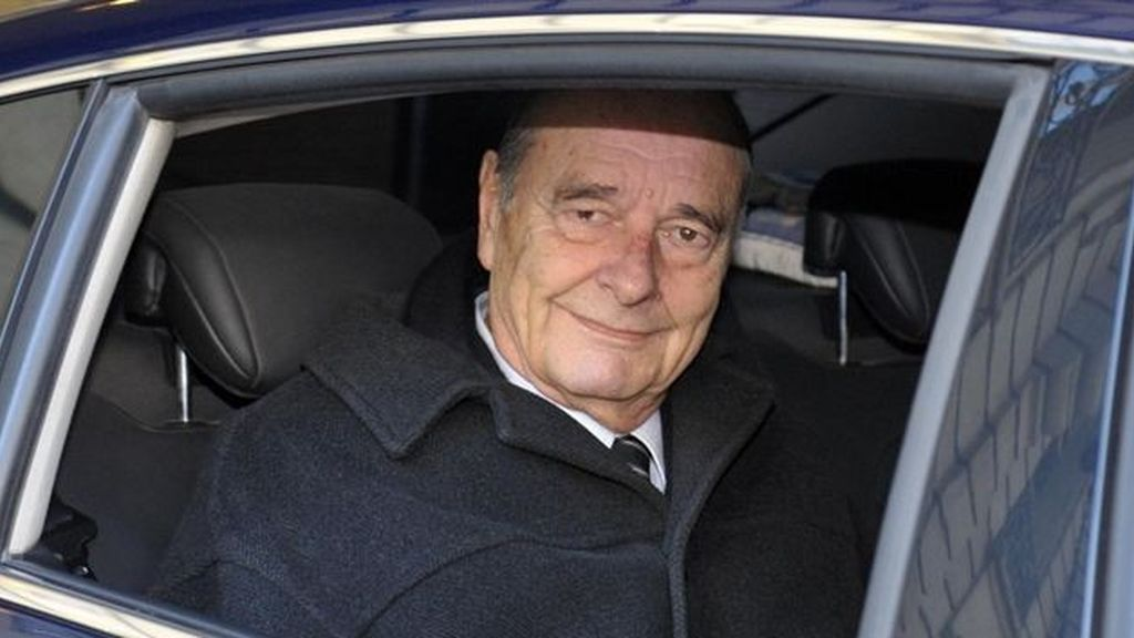 El expresidente Jacques Chirac