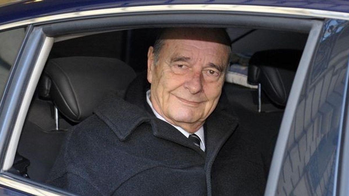 El expresidente Jacques Chirac