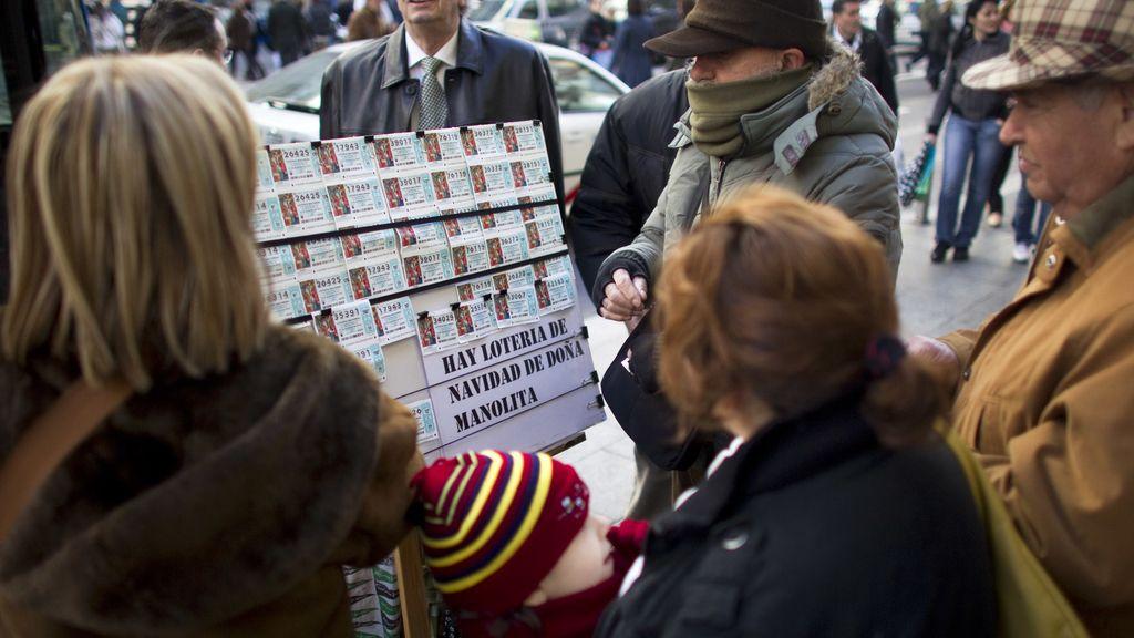 Se dispara la venta de lotería para el Sorteo de Navidad