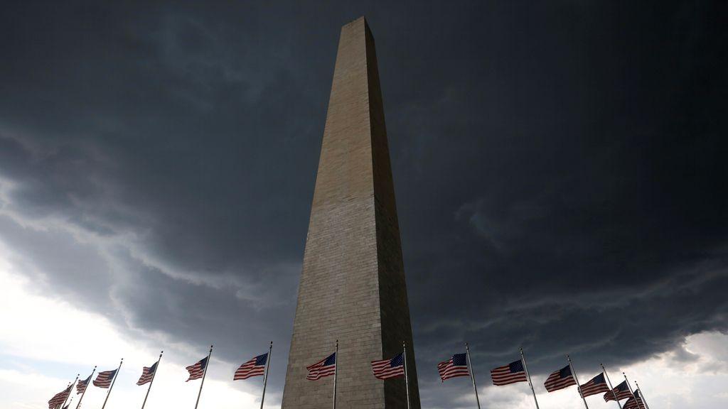 Una gran tormenta se acerca a Washington