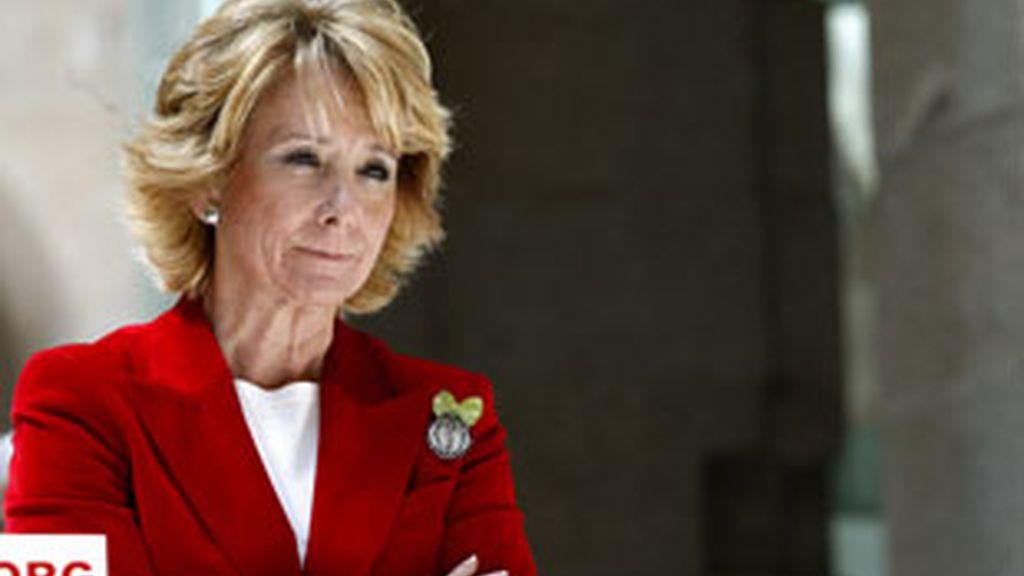El cambio de Gobierno de la presidenta de la Comunidad de Madrid, Esperanza Aguirre. Vídeo: Informativos Telecinco.