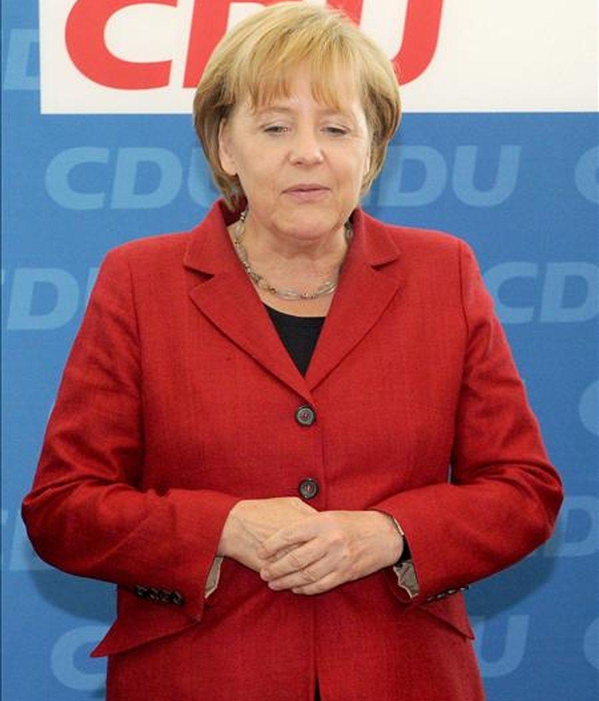 La canciller alemana, Angela Merkel. EFE/Archivo