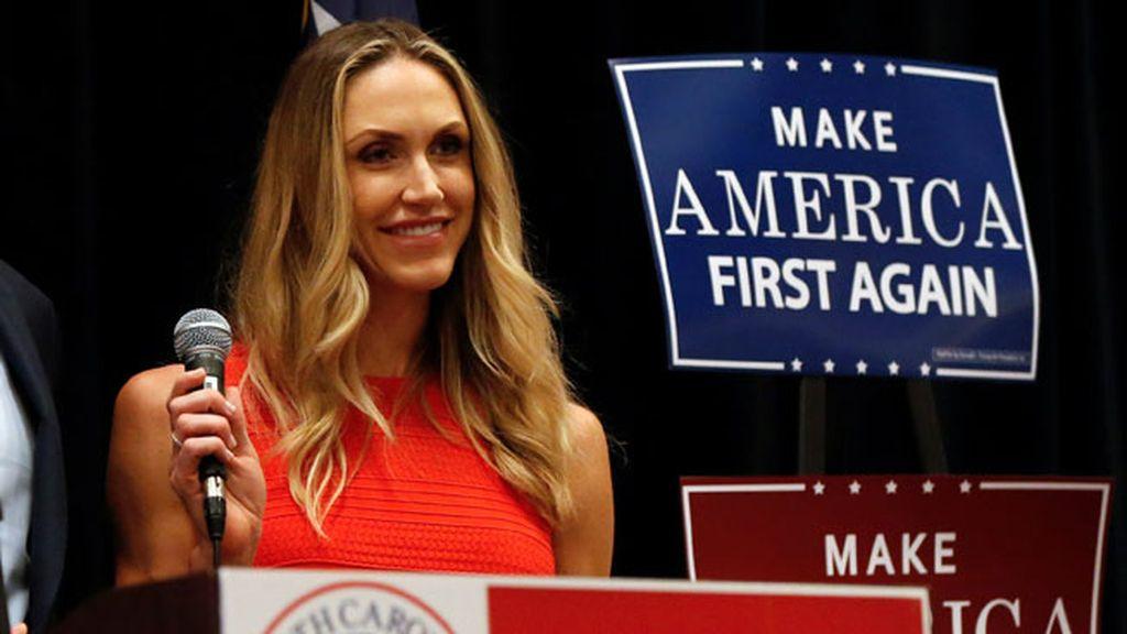 Lara Yunaska, casada con Eric Trump y enamorada de Charlie, su perro