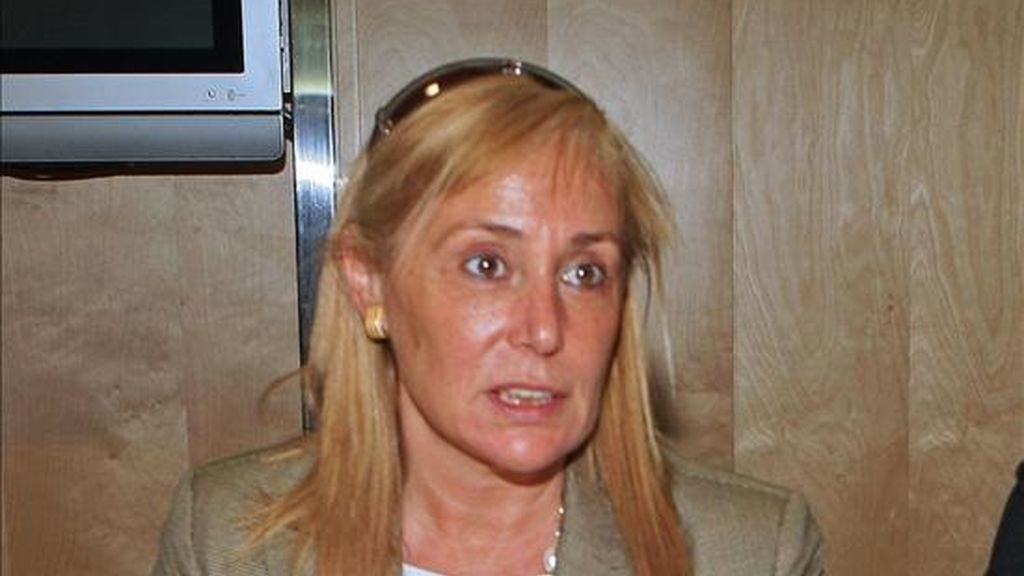 La consejera de Presidencia y portavoz del Ejecutivo murciano, María Pedro Reverte. EFE/Archivo