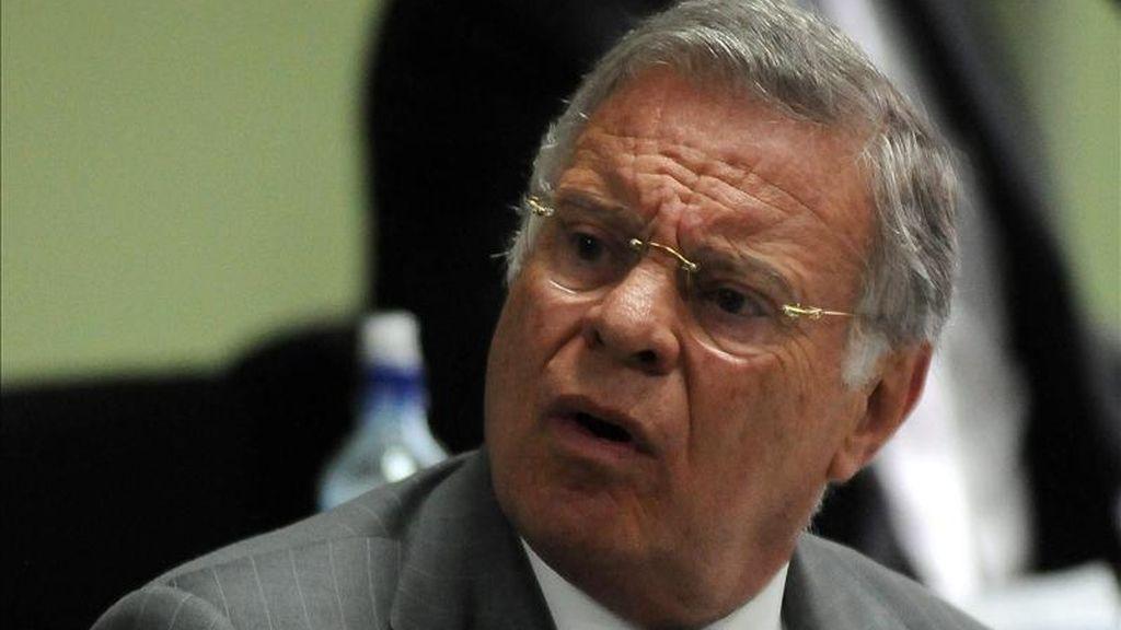 Miguel Ángel Rodríguez se convirtió así en el segundo exmandatario costarricense condenado por un caso de corrupción, luego de que Rafael Ángel Calderón (1990-1994), recibiera una sentencia de cinco años de prisión en 2009. EFE/Archivo