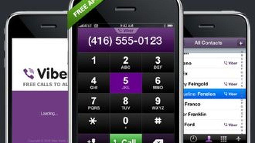 El Viber es una aplicación que aprovecha la conexión 3G y permite realizar llamadas gratis.
