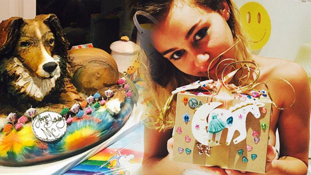 """El """"mejor cumpleaños"""" de la cantante, a todo color"""