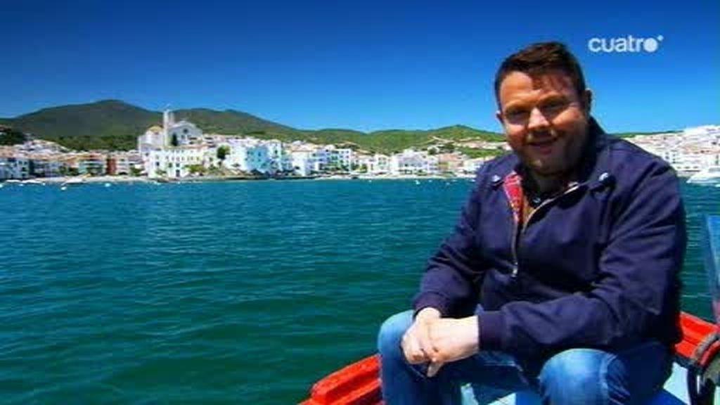 Entrando en Cadaqués por el mar