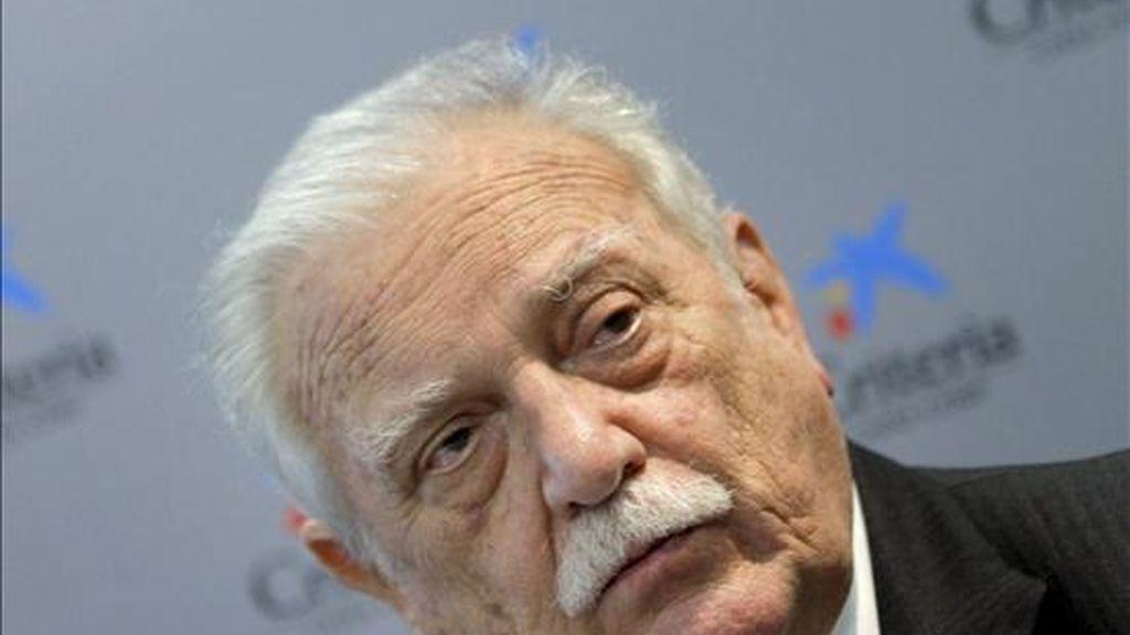 El presidente del grupo SegurCaixa Holding, Ricardo Fornesa. EFE/Archivo