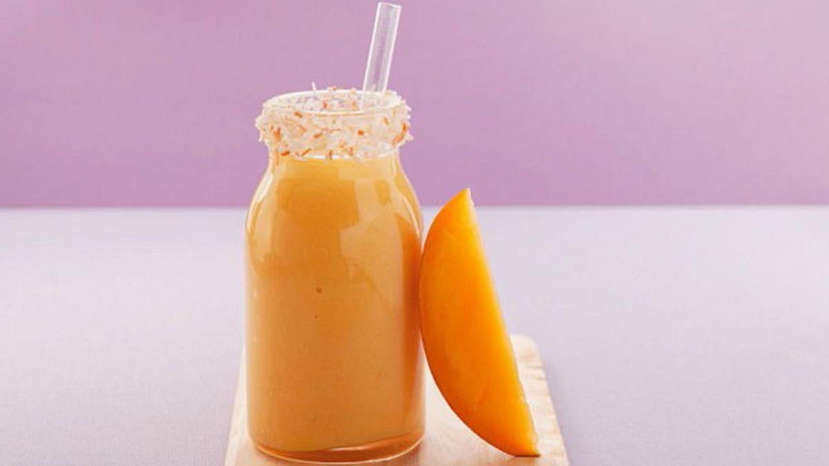 batido de naranja