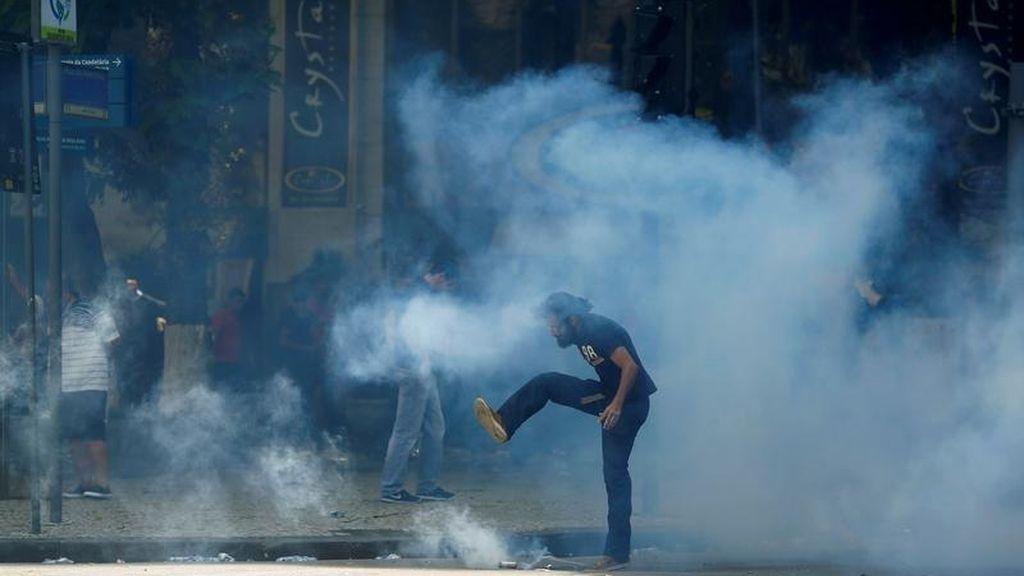 Protestas de gas