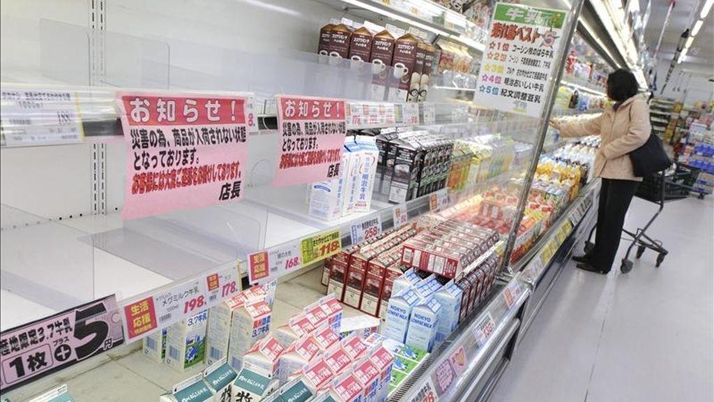 Los países de la Unión Europea (UE) decidieron hoy imponer condiciones más estrictas a las importaciones de alimentos de Japón, para evitar que entren productos contaminados con radiactividad, informaron fuentes comunitarias. EFE/Archivo