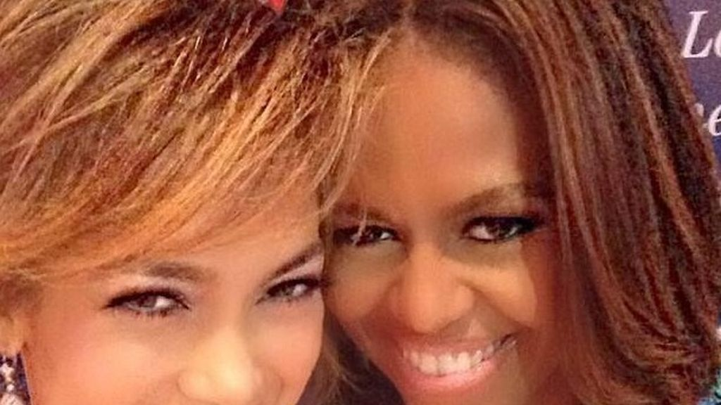 JLo y Michelle Obama
