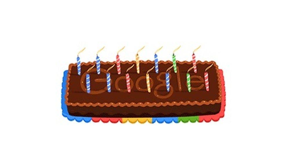 Google celebra su 14 cumpleaños
