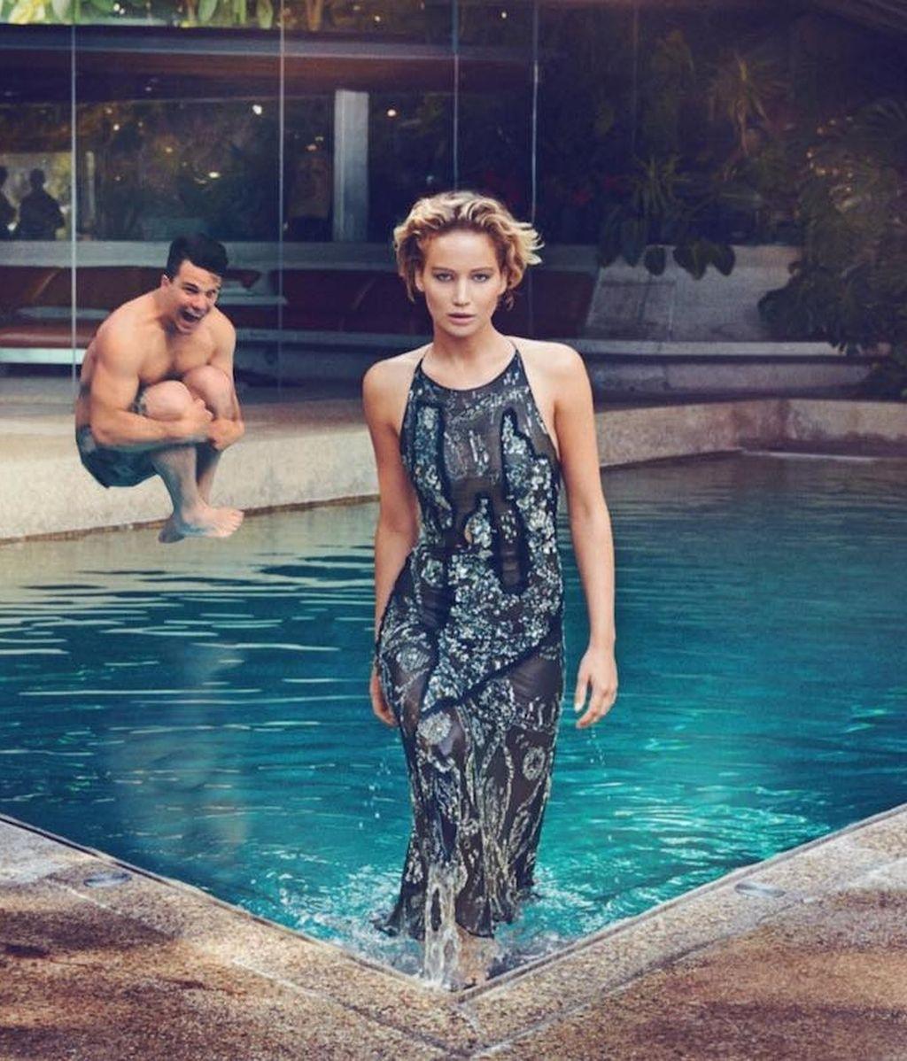 Con Jennifer Lawrence
