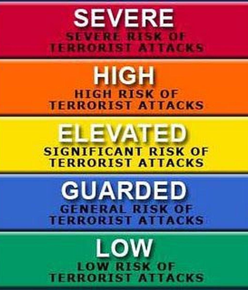 El anterior sistema contemplaba cinco niveles de alerta, mientras el nuevo será de dos. La novedad es que los ciudadanos estadounidenses serán avisados a través de las redes sociales.