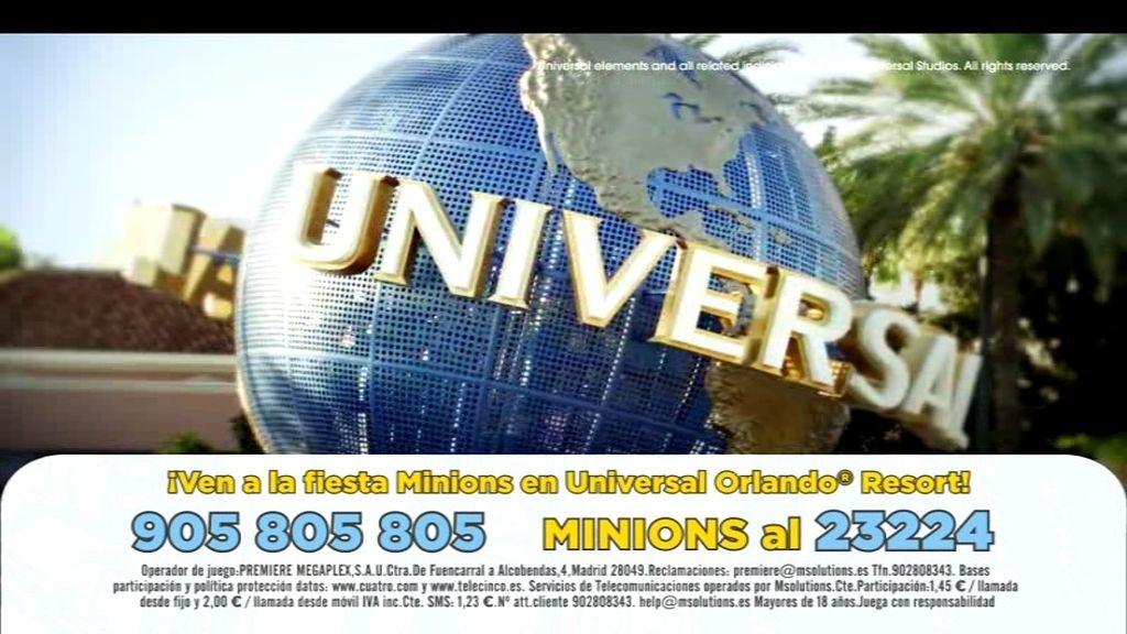 ¡Sorteamos un viaje para 4 personas al parque temático Universal Orlando® Resort!