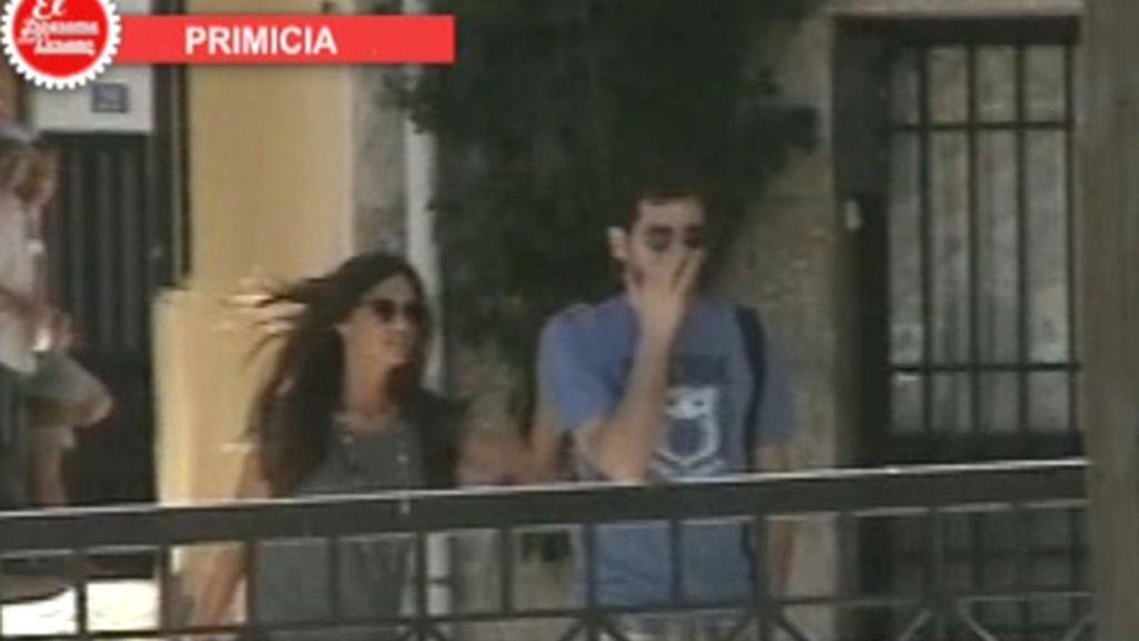 Sara e Iker, de vacaciones en Ávila