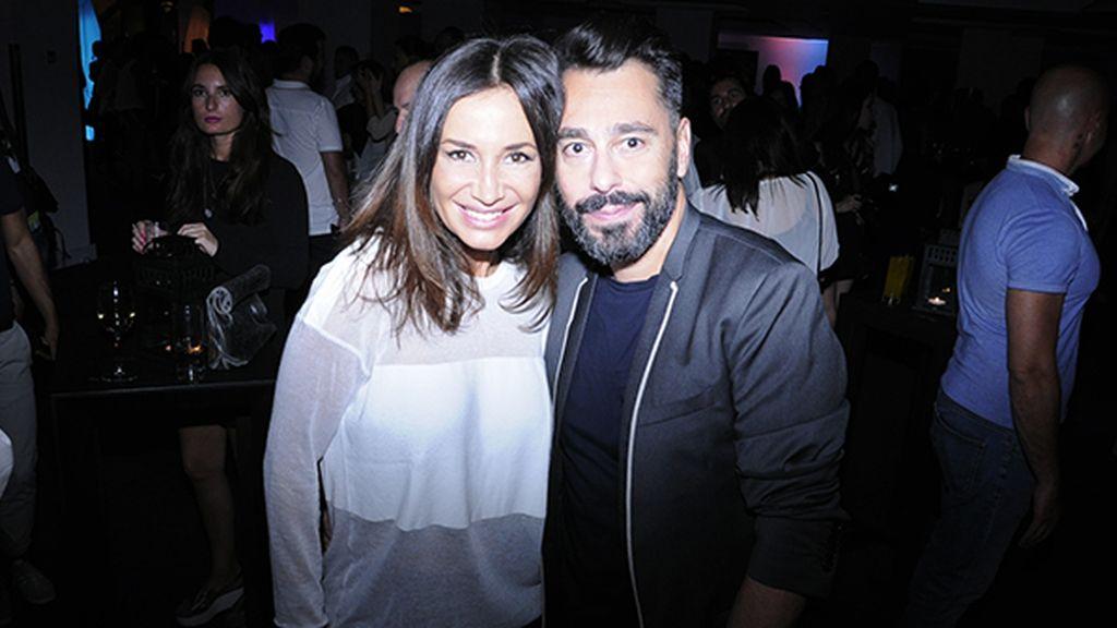 Cecilia Gómez con Juanjo Oliva