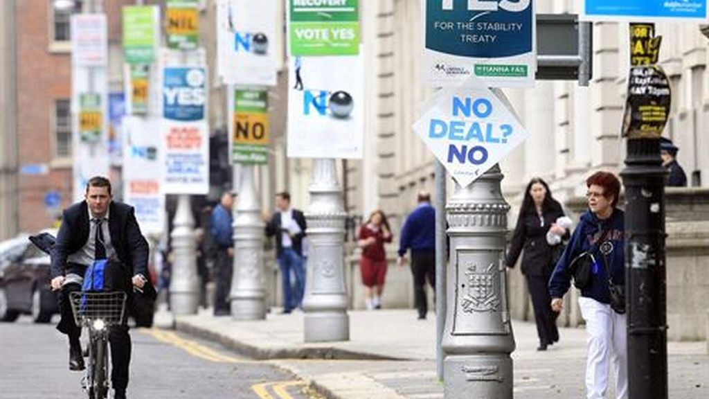 Irlanda habría ratificado el pacto europeo de disciplina fiscal