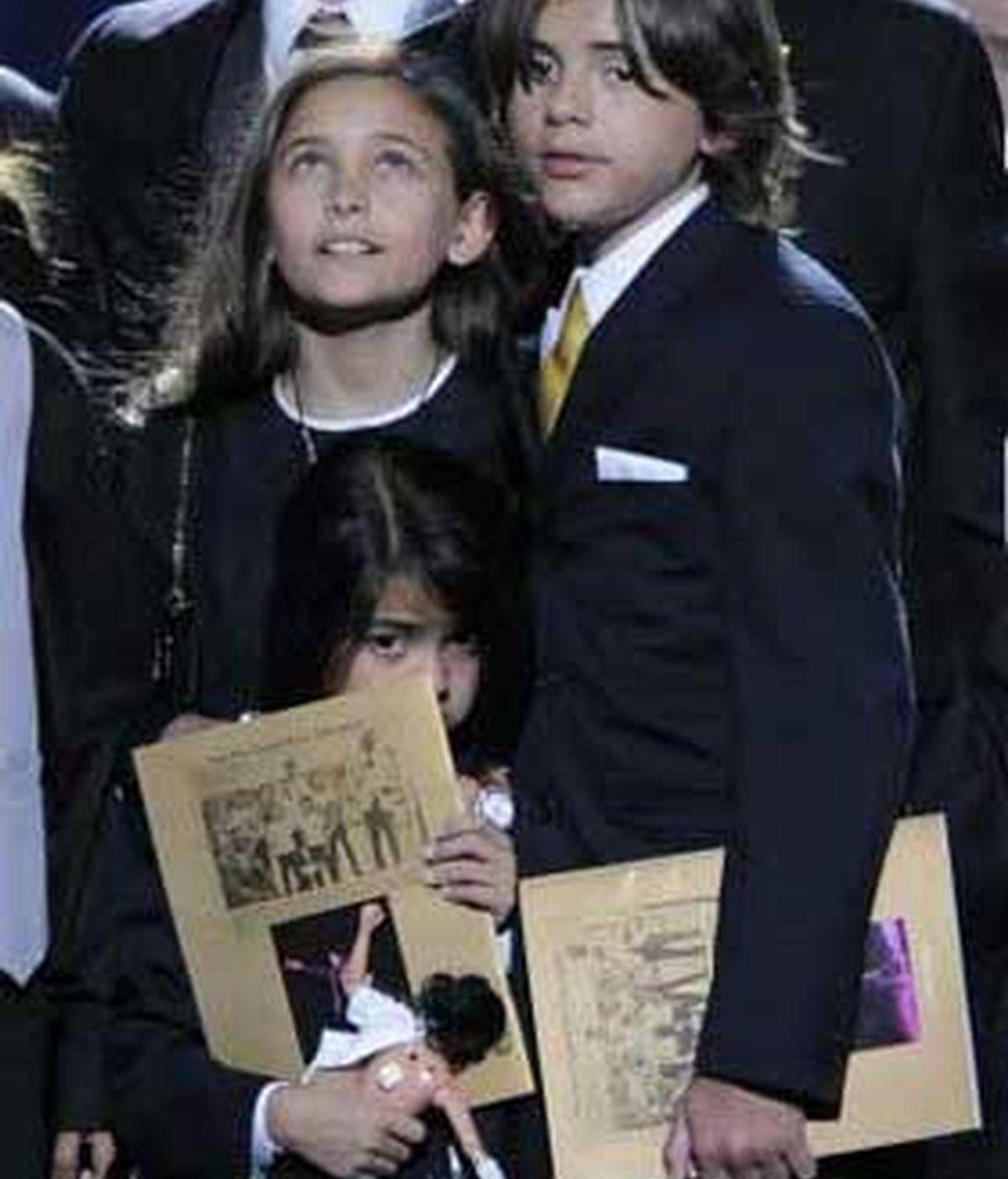 Según apuntan varios medios estadounidenses, uno de los tres hijos de Michael -Paris, Prince o Blanket Jackson- está preparándose para testificar. FOTO: Archivo