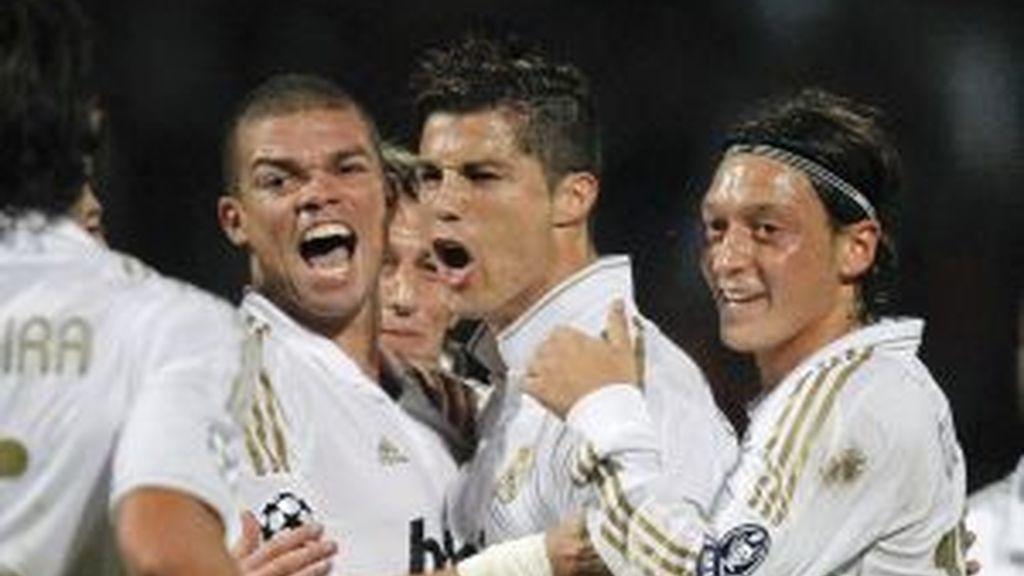 Cristiano Ronaldo ha marcado los dos tantos del Madrid. Vídeo: Informativos Telecinco
