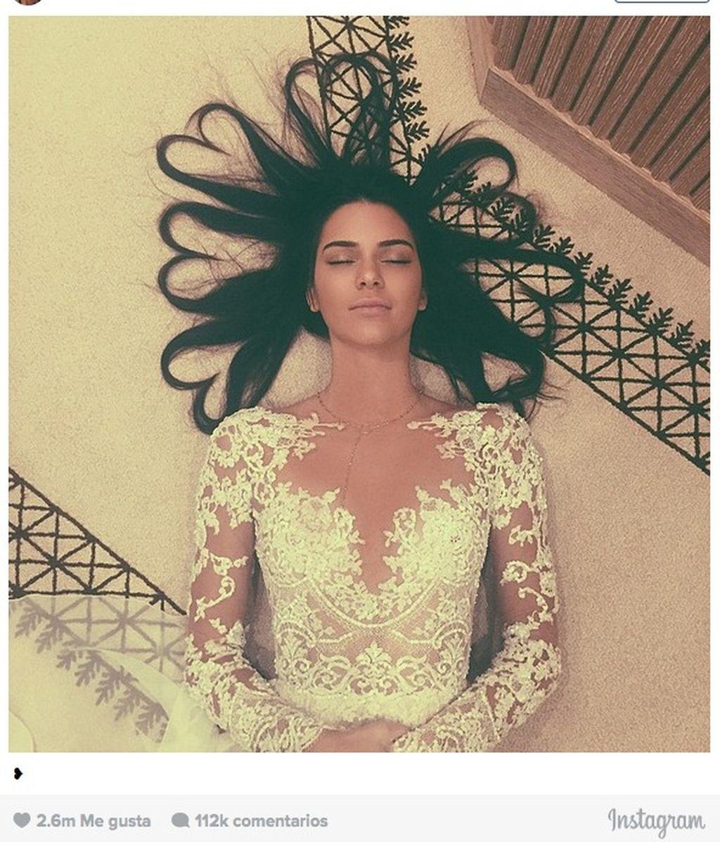 Kylie Jenner triunfa en instagram