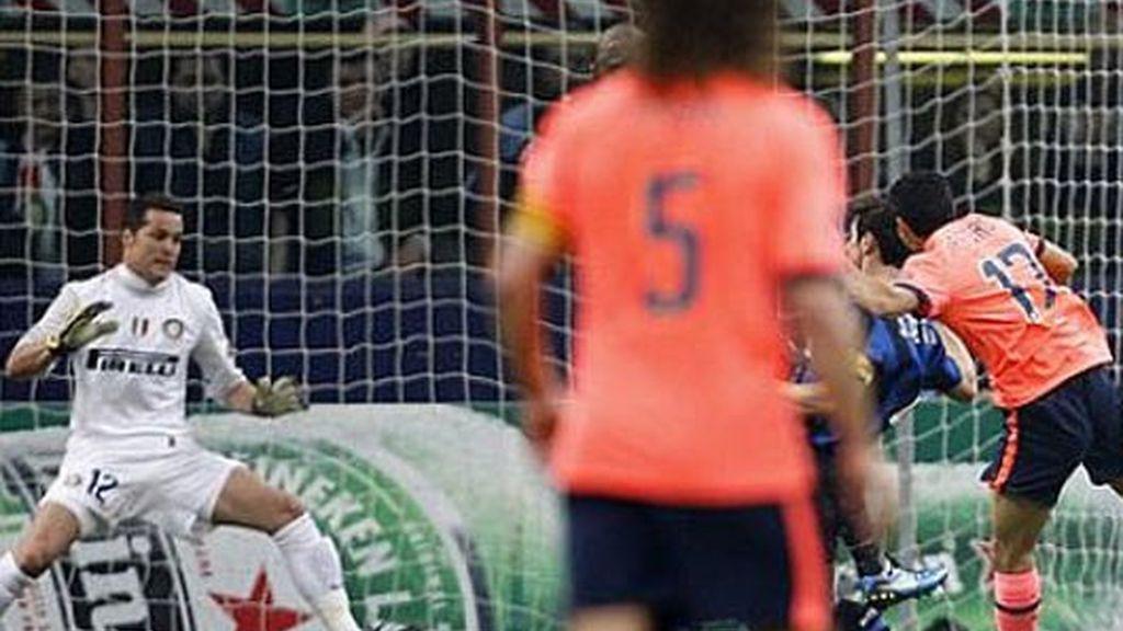 El primer gol, culé