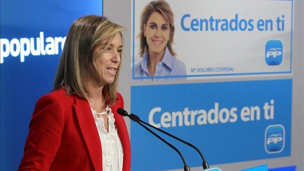 La vicesecretaria de Organización y Electoral del PP, Ana Mato. EFE/Archivo