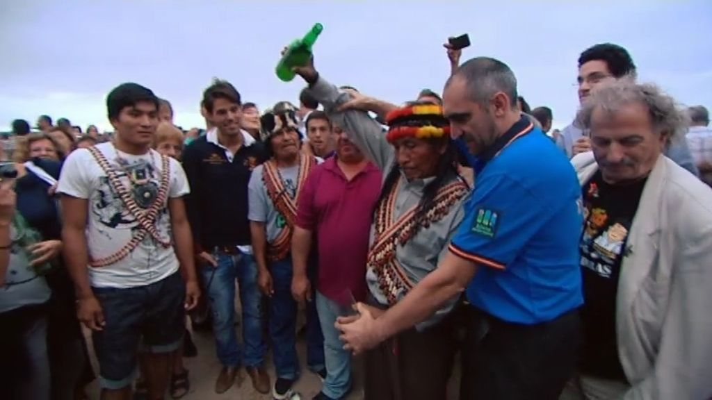 La tribu, invitada a una fiesta con sabor asturiano