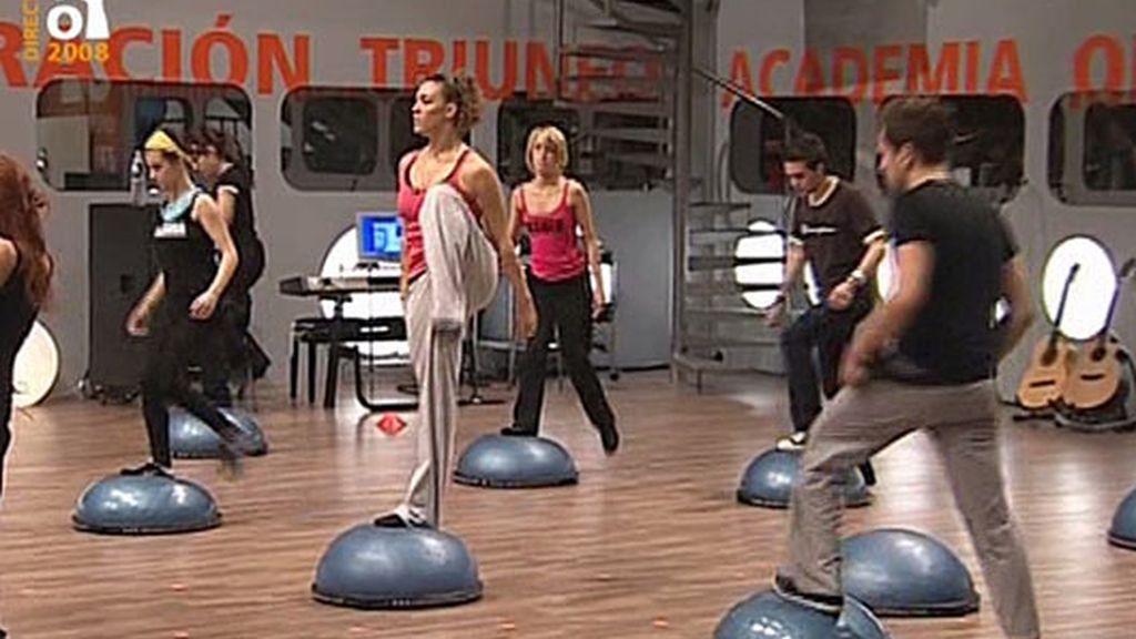 Fitness y risas a primera hora