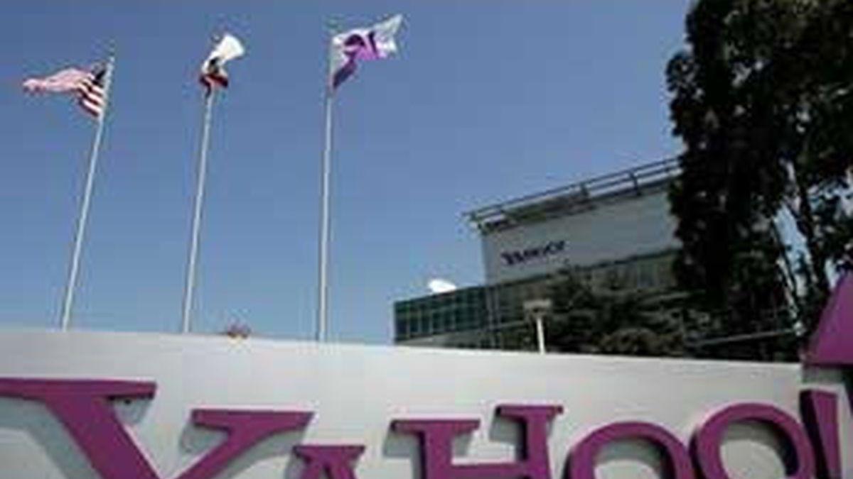 Imagen de archivo de las oficinas de Yahoo.