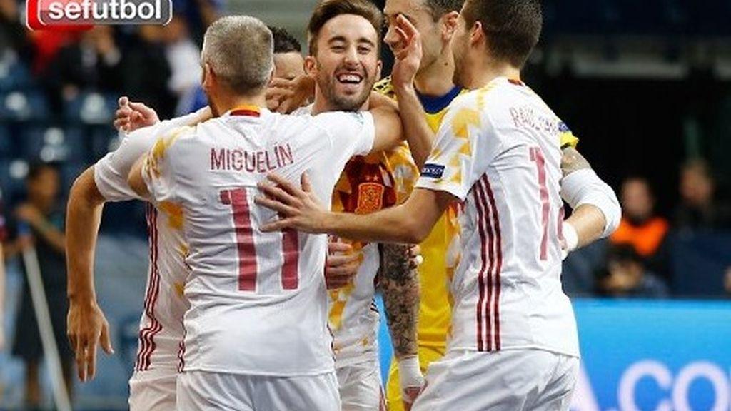 La selección española de fútbol sala gana el europeo