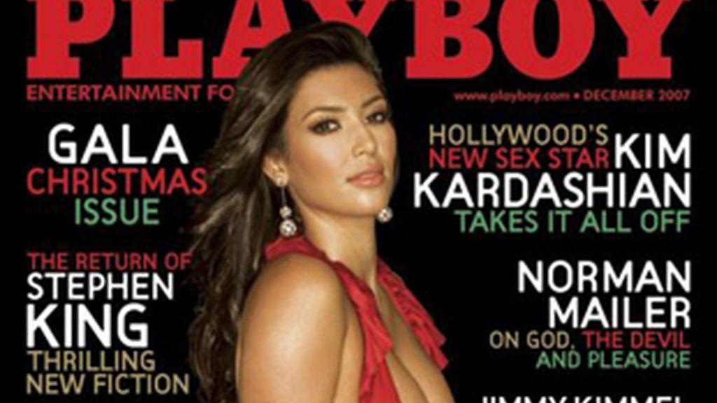 Portada de Playboy protagonizada por Kim Kardashian. Foto: Playboy