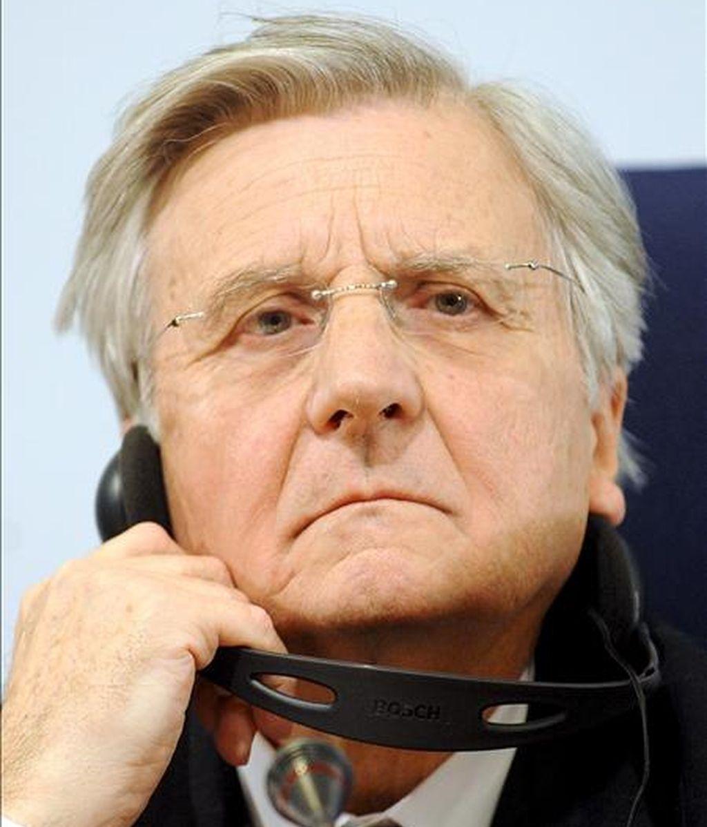 El presidente del Banco Central Europeo (BCE) , Jean-Claude Trichet. EFE/Archivo