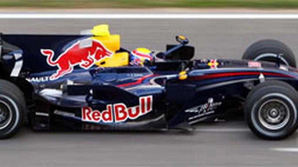 Imagen de archivo de un Red Bull.