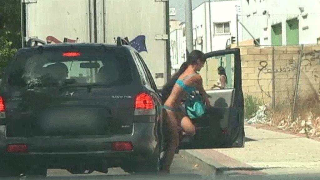 'Prostitución por crisis' en imágenes