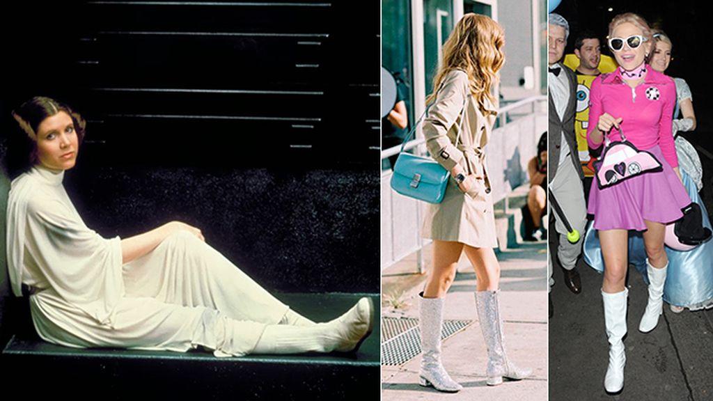 Las botas blancas de media caña que han inspirado a Saint Laurent