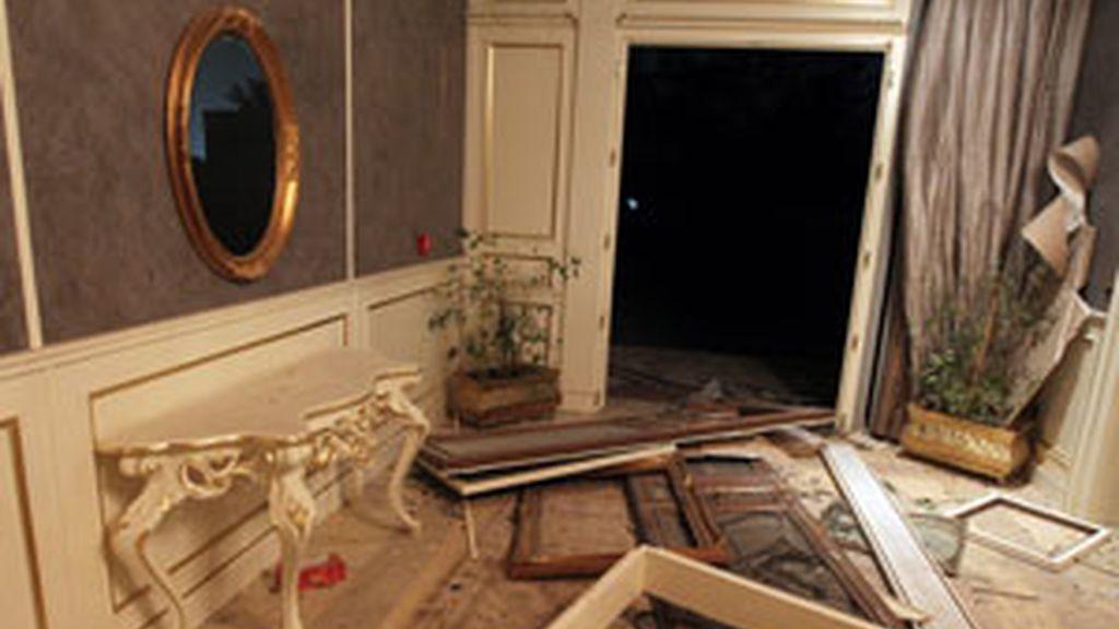 Destruiído el complejo de Muamar el Gadafi en Trípoli. Video: Informativos Telecinco