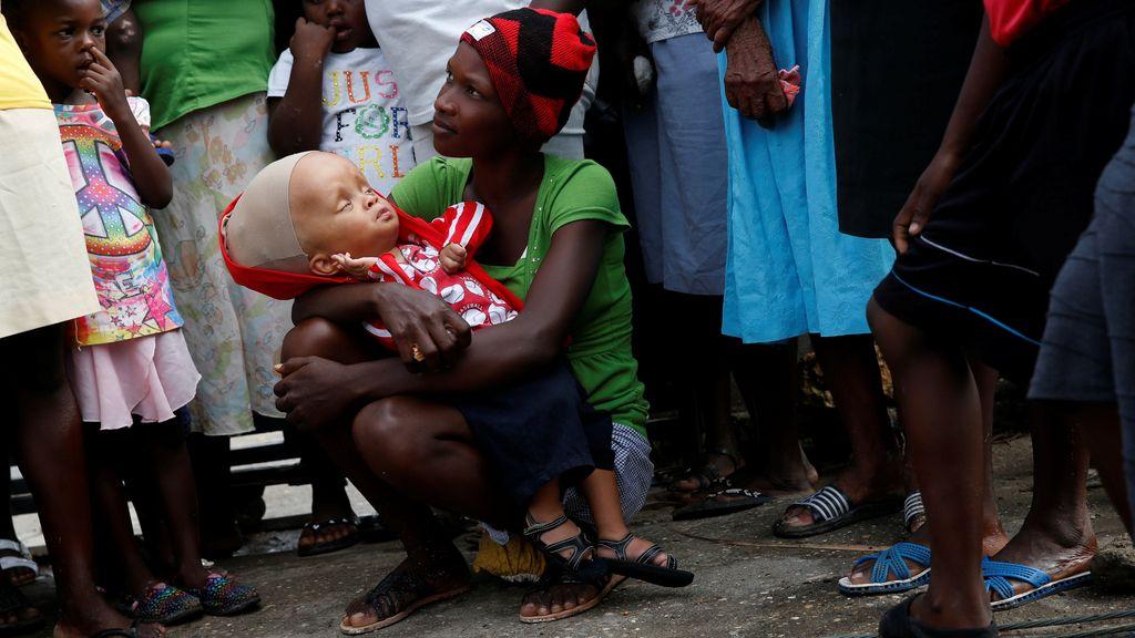 El dolor en Haití, tras el paso del huracán Matthews