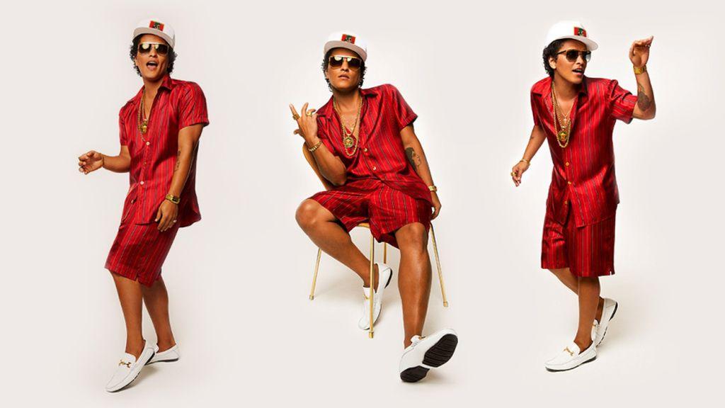 Bruno Mars presentará su nuevo disco en Madrid y Barcelona