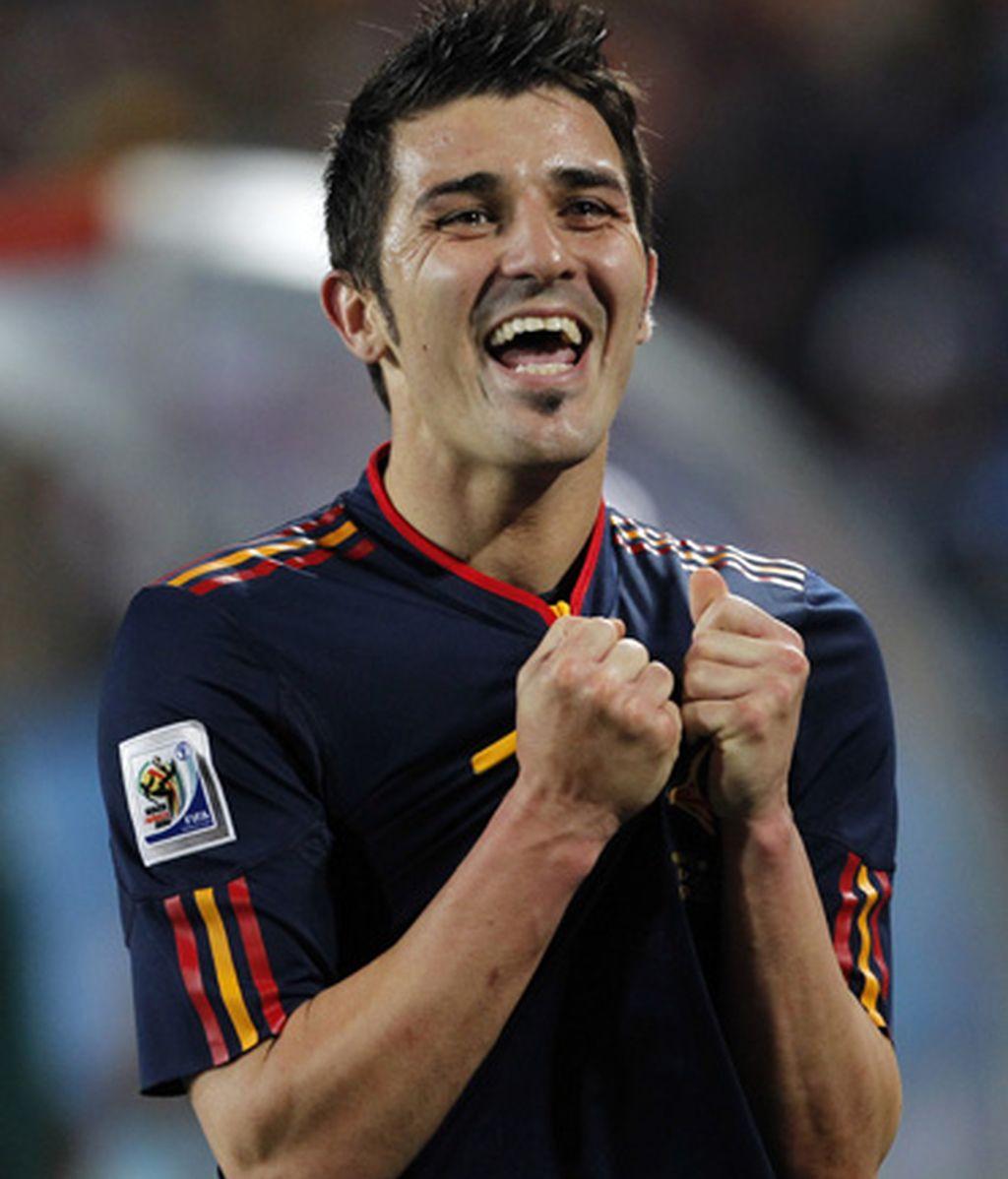 3. David Villa (España)
